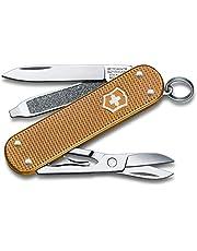 Victorinox Unisex – nóż kieszonkowy dla dorosłych Classic SD Alox Colors, Wet Sand, 58 mm
