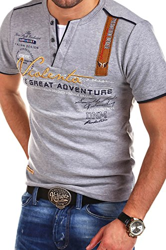 MT Styles 2in1 T-Shirt Adventure Grau R-2693 [Grau, L]