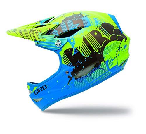 Giro Uni Fahrradhelm Remedy, Process Blue/Bright Yellow Cloud Nine, 60-62 cm, 2031089