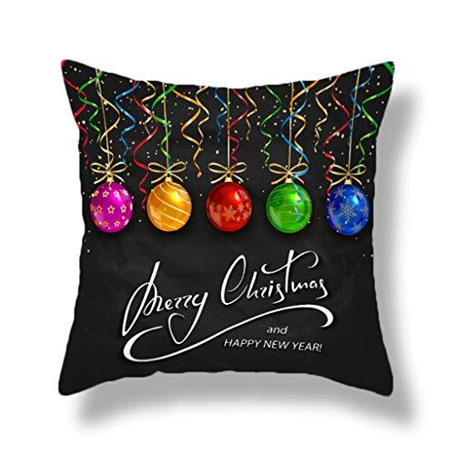 KAIDOU Christmas Sofa Bed Home Decor Pillow Case Cushion Cover Christmas sofa cushion and pillowcase Merry Christmas