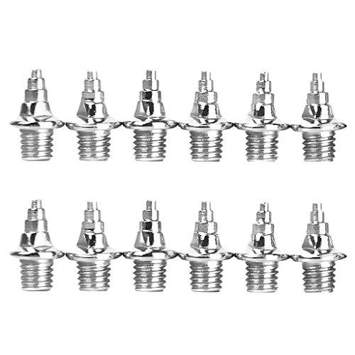 Baoblaze 5mm Spike Nägel 12er Set Ersatz-Dornen für Leichtathletik - 8mm