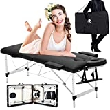 Best Portable Massage Tables - Luxury Portable Lightweight Massage Table Beauty Couch Therapy Review