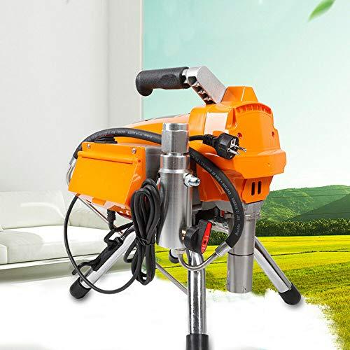 Pulverizador de pintura Airless de 3000 PSI, 3 kW, alta presión, con pistola pulverizadora, dispositivo de pintura para paredes, barnices, barnices, madera y protección contra la corrosión