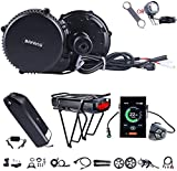 BAFANG BBS02B 48V 750W Ebike Motor with LCD Display 8fun Mid Drive Electric Bike Conversion Kit with Battery (750C Display, Motor kit+52T Chainring+Shark Battery 48V 12Ah)