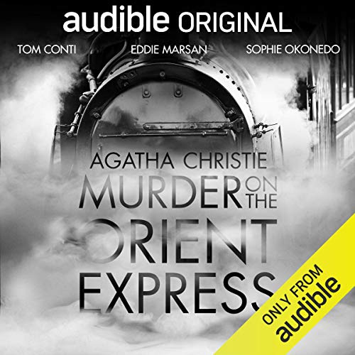Page de couverture de Murder on the Orient Express