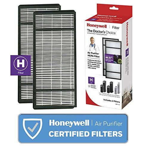 kaz air ionizers Honeywell True HEPA Air Purifier Replacement Filter HRF-H2 / Filter H (Pack of 2)
