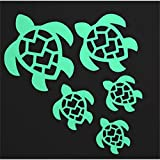 Turtle Family Monogram Sea Cars Decal Sticker, Vinyl Auto Decals & Decal Sticker for Bumper,Trucks, Vans, Motorcycle, Window, Laptop, Computer, Cup, Mug, Bottle.