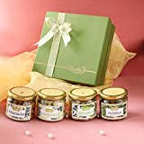Package Includes:- Almonds, Cashew Nuts, Roasted and salted Pista (Pistachios), Golden Raisins and 1 Big square box Good Vibes: You can send good wishes, warm greeting, goodness of health & sweet. All of which will melt the heart of your loved ones. ...