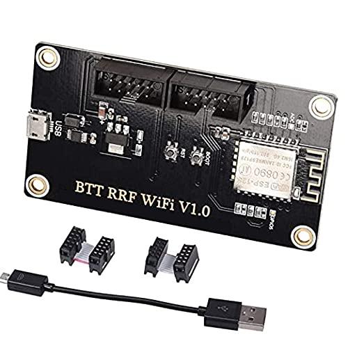 PoPprint BTT RRF WiFi V1.0 RepRap-Firmware del módulo de ampliación para SKR V1.1 / SKR V1.3 / SKR V1.4 Duet Wifi-Firmware tarjeta de ampliación