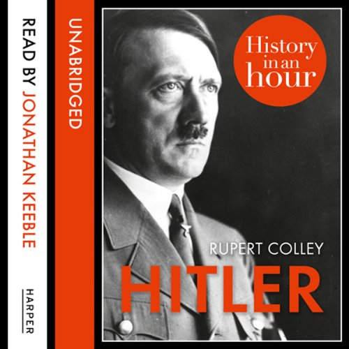 Hitler: History in an Hour audiobook cover art