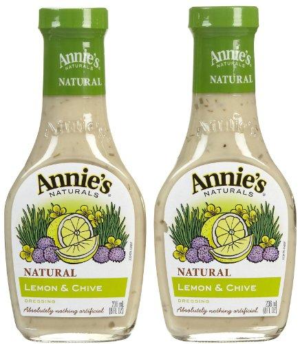 Annie's Homegrown Lemon & Chive Dressing (No Vinegar) - 8 oz - 2 pk