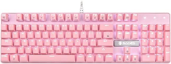 Best pink ergonomic keyboard Reviews