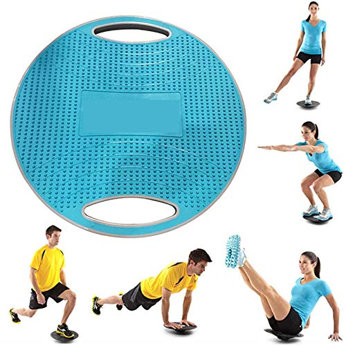 Buy FQMAO Wobble Balance Board Anti Slip Surface Gym Fitness Exercise Rehabilitation Training, 42Cm ...