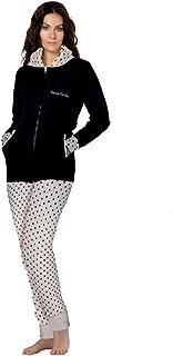 Colore: Grigio Pallido Rebelle by Pastunette a Maniche Lunghe Camicia da Notte da Donna 100/% Cotone