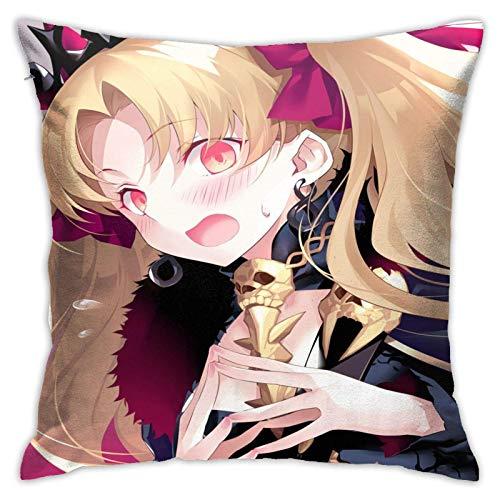 DRXX Ereshkigal FA-te Funda de Almohada de Anime Hentai Waifu cojín Decorativo Fundas de cojín Cuadrado para sofá de casa 45x45cm