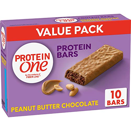 Protein One 90 Calorie, Peanut Butter Chocolate, 10bars/pack , (pack of 6) New York