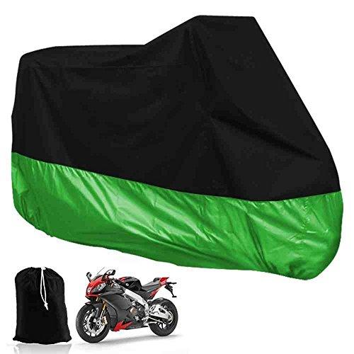 DeliaWinterfel XXL Funda Protector Lona para Moto Motocicleta para Garaje o Aire...