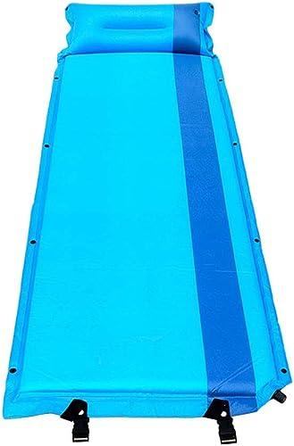 Dcd Tapis de Sommeil Tapis épais Auto-gonflant pour Matelas Gonflable portatif et Pliant Tapis de Camping-Tente de Matelas Anti-humidité Bleu 185  57cm