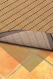 "Moretti Firefly Non-Slip Area Rug Pad 0007C Brown 7' 6"" x 10' 8"" Rectangle"