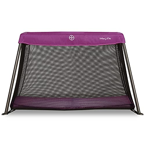 Dream On Me, Travel Light Playard, Pink , 40.5x27x26 Inch (Pack of 1)