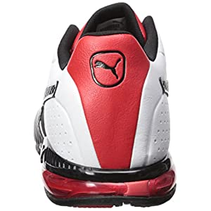 PUMA Men's Cell Surin 2 Sneaker, White Black, 9.5 M US