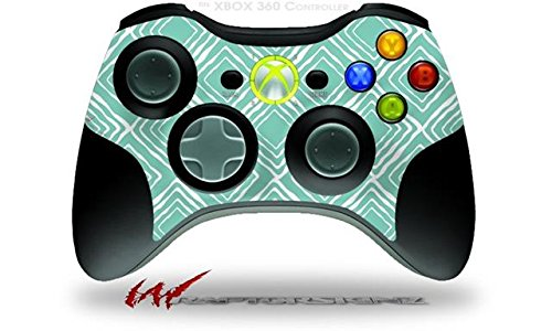 XBOX 360 Wireless Controller Decal Style Skin - Wavey Seafoam Green (CONTROLLER NOT INCLUDED)