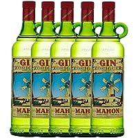 Pack 5 Botellas de ginebra Gin Xoriguer Mahón-Menorca 70 cl.