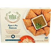 Whole Foods Market, Potato & Pea Samosas, 7.5 oz (Frozen)