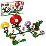 LEGO Super Mario Toad's Treasure Hunt Expansion Set 71368 Building Kit; Toy for Kids to Boost Their LEGO Super Mario Adventures with Mario Starter Course (71360) Playset, New 2020 (464 Pieces)