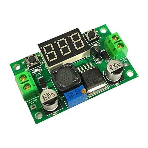 Ashley GAO DC-DC LM2596 justerbar omvandlare strömförsörjningsmodul 0 ~ 40 V spänningsregulator strömomvandlare med digital skärm