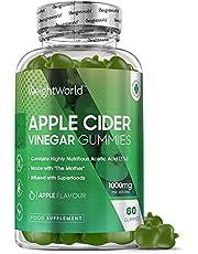 Appelciderazijn Gummies - 60 Natuurlijke Apple Cider Vinegar gummies 1000 mg 18 Kcal - Met Vitamine B12, Foliumzuur, Granaatappel & Rode Biet - 60 Detox Appelazijn