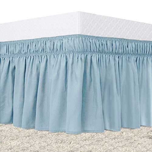 Guken Elastic Bed Skirt Queen Size …