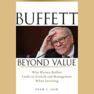 Buffett Beyond Value audiobook cover art