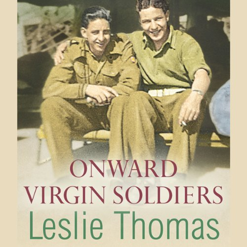 Onward Virgin Soldiers audiobook cover art