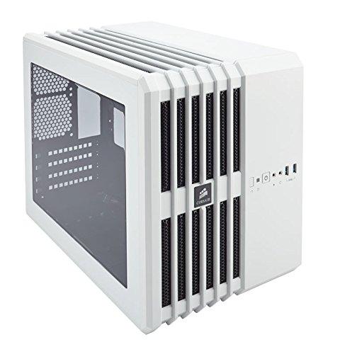 Corsair CC-9011069-WWCORSAIR Carbide AIR 240 Micro-ATX and Mini-ITX Case, High-Airflow - White