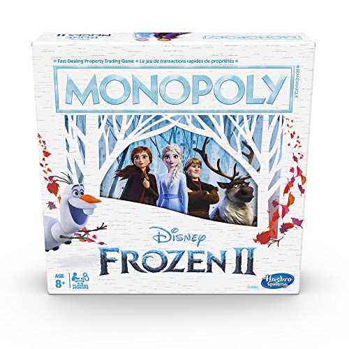Hasbro Disney Frozen II Monopoly Bilingual - English/French