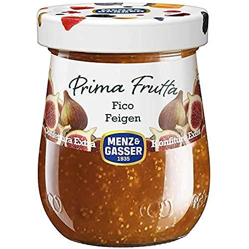 Menz&Gasser Confettura Extra di Fichi Prima Frutta - Confettura con Frutta di Alta Qualità, 1 Vaso x 340 g