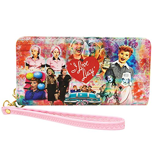 Midsouth Products I Love Lucy Wallet With Collage, Multicoloured, Medium