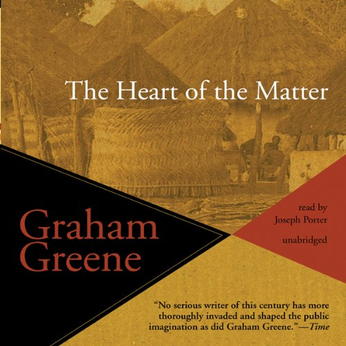 The Heart of the Matter audiobook cover art