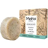 Meina - Bio Haarseife Naturkosmetik, Vegan Shampoo Bar mit Brennnessel & Pfefferminze, festes...