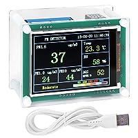 品質モニター、PM2.5検出器LED家庭用空気質車両環境モニターA1通信2.8in