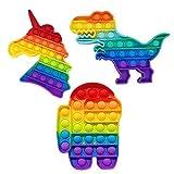 RSL Little Heroes 3410 Pop Bubble Juguete Antiestres. ,Relajante . Juguete sensorial, Autismo. Fidget Toy Pop it. Alivia ansiedad. Niños y Adultos. Envío 24-48 Horas (Top 3)