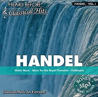 Handel vol. 1 Water Music, Music for the Royal Fireworks, Hallelujah