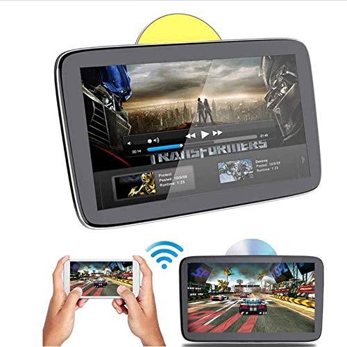 QWSA Reproductor Video AutomóVil,Monitor DVD PortáTil AutomóVil 11.6 Pulgadas,Monitor Multimedia Digital ExtraíBle con Pantalla TáCtil Reposacabezas,Soporte WiFi/Bluetooth