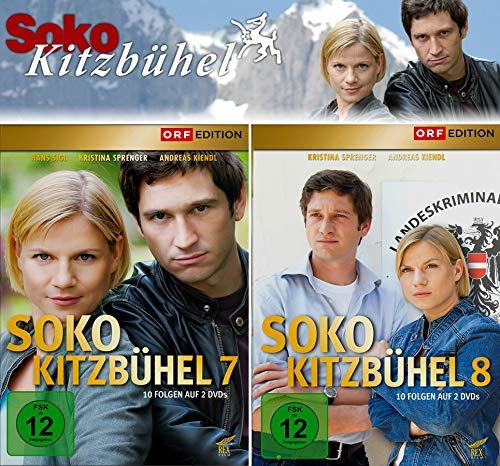 SOKO Kitzbühel - Box 7+8 (4 DVDs)