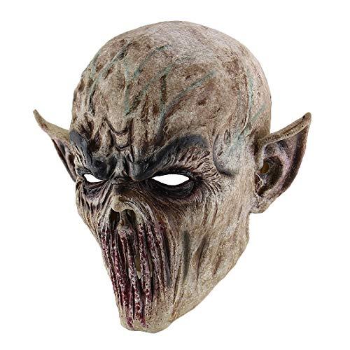 Hophen Creepy Scary Halloween Kostüm Maske for Erwachsene Partei-Bevorzugungen Huanted Haus Dekoration Props YMIK (Color : Zombie)