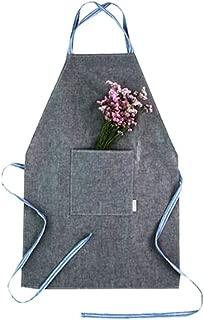 Bringme Fabric Collection Apron Cotton 100% Gray
