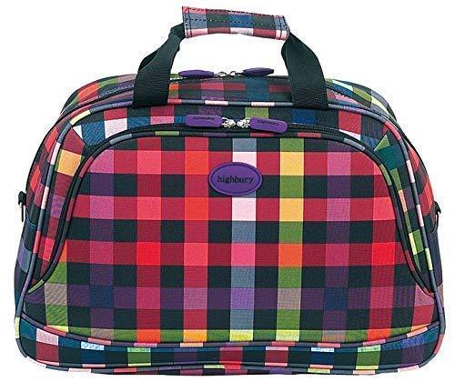 Preisvergleich Produktbild Handtasche Leicht Reise Flug Handgepäck Übernachten Schultertasche HBY0005 5 Jahre Garantie,  Super Stark