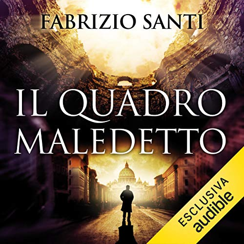 Il quadro maledetto audiobook cover art