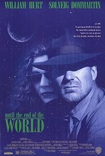 Until the End Of the World Movie Poster (27 x 40 Inches - 69cm x 102cm) (1991) -(William Hurt)(Solveig Dommartin)(Sam Neill)(Max von Sydow)(Ruediger Vogler)(Ernie Dingo)